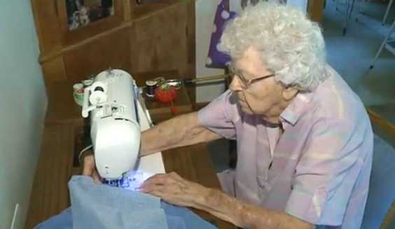 The Real Reason Why This 99-Year-Old Lady Sews A Dress Each Day Will Crush Your Heart.. So Much.