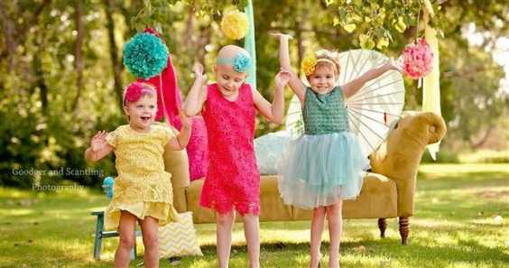Check Out The Beauty Of These Kids While They're Battling With Cancer. This Will Move You To Tears.