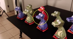 These T-Rex Designs May Be Staring At You. But, Take A Look Closer. You've Probably Been Deceived. Uh Uh! Hmmmm..