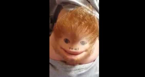 Meet Ed Sheerchin: The Cute And Funny Face Lip-Syncing Ed Sheeran's 'Thinking Out Loud'