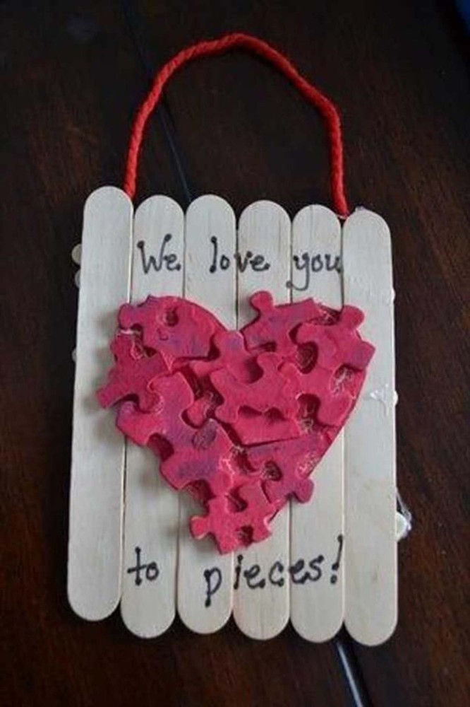 Exceptional Valentines Day Crafts 2 Part - 10: And With Some Little Improvement Of Your Own, You Could Also Let Your Kids  Join You Make These Crafts, Or Simply Let Your Pupils (if Youu0027re A Teacher)  Make ...
