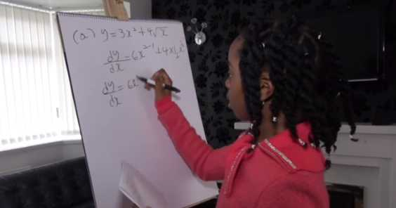 This 10-Year-Old Girl Love Math More Than You Do
