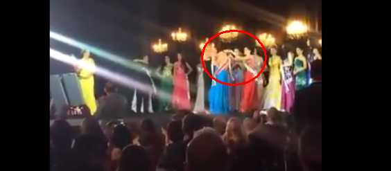 Shocking Beauty Pageant Coronation: 60th Miss Amazonas Runner-Up Yanked The Crown From The Beauty Queen's Head And Threw It On Stage