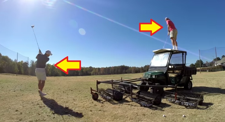 Watch How These Guys Do Some Epic Golf Tricks Shots