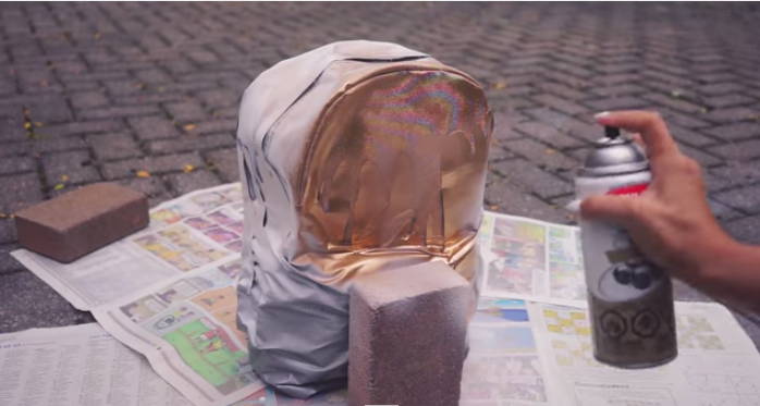 Look For Your Old Backpack And Try To Enhance Its Color By Watching This Video