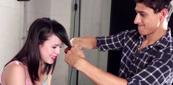 Will You Let Your Boyfriend Cut Your Hair? Two Women Try And They So Love The Result, Trust Me