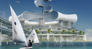 You'll Love To Stay In This Futuristic Eco Island When It Became A Really…We Really Hope…