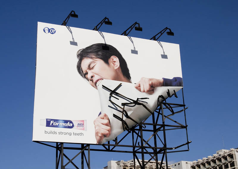 Billboards Are Considered by Motorists as Eye Sore But Not These Creative Ads.