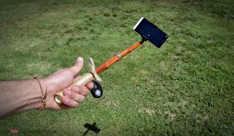 This Is How You Make A Selfie Stick By Yourself…Just Thank Me Later…