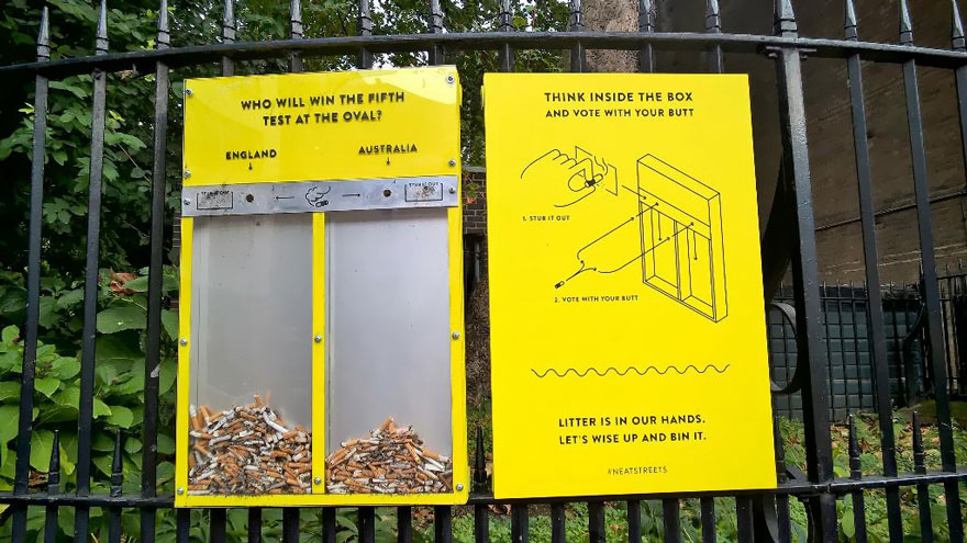 Brilliant Anti-Littering Ideas In UK That Really Works – I'm So Impressed