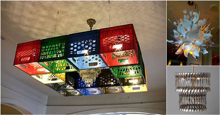 18 Of The Most Spectacular Chandeliers Made From Unusual Objects
