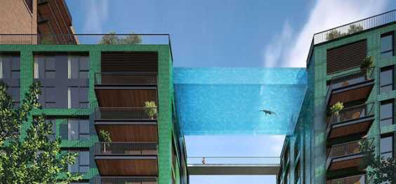Glass Sky Pool: World's First Ever Pool That'll Make You Feel Floating Through The Air