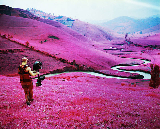 Breath-Taking Pink Landscapes Of The African Congo – But, There's Something Else Behind This Beauty