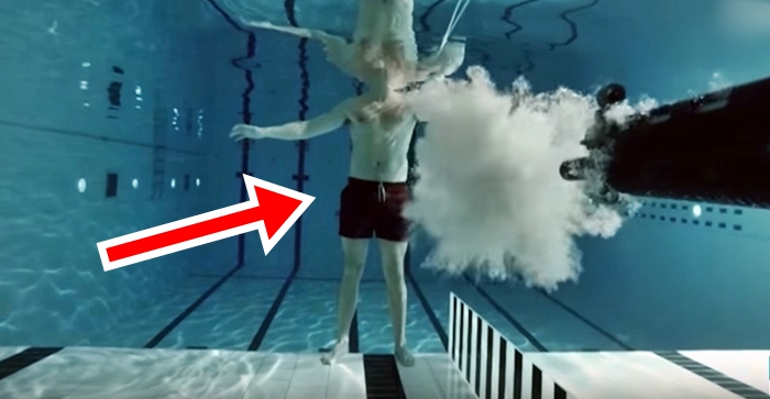 Physicist Fires Weapon On Himself Underwater – What Happened Next Is Just Unbelievable