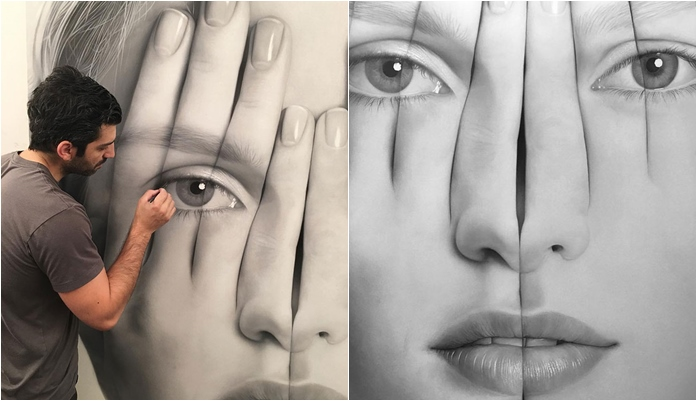 Artist Creates Amazingly Realistic Portraits In Pictures – Really Impressive