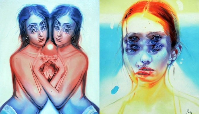 Artist Does Paintings Of Women In Mind-Puzzling Fashion – Incredible