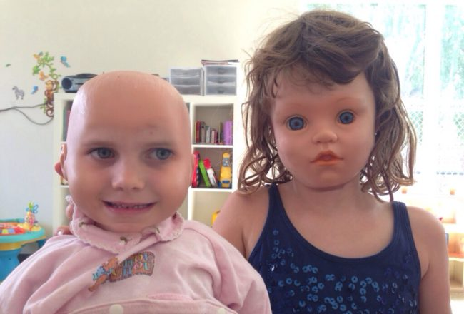 Children Swapping Faces With Dolls Looks Totally Undesirable – You Need To See This