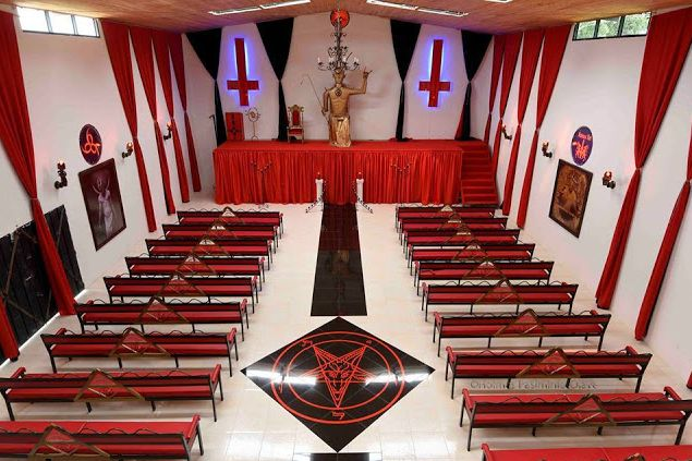 Controversial And Creepy Photos Of First Satanic Church Released Online. Take A Look.