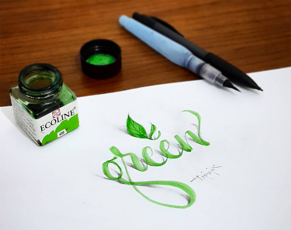 Artist Creates 3D Calligraphy That Will Surely Bring Puzzles Into Your Minds – Really Amazing