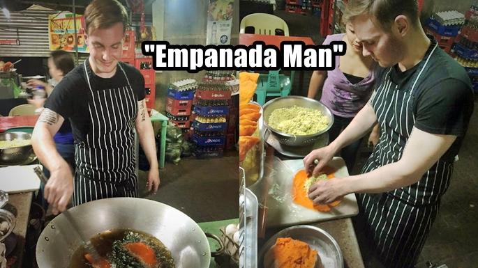 'Empanada Man: British-Italian Chef Who Cooks Empanada Like A Local – Incredible