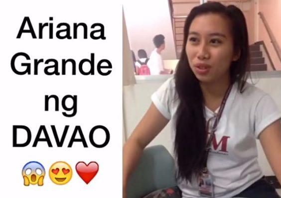 Young Filipina From Davao Who Sings Like Ariana Grande Went Viral