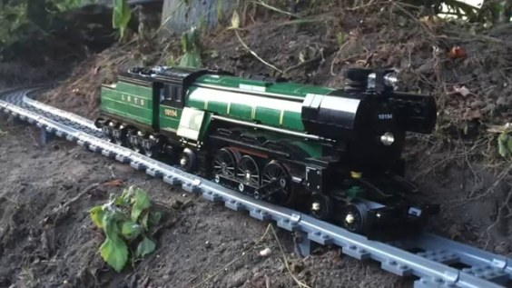 Check Out This Massive Lego Train Set Up. It's Really Mesmerizing.
