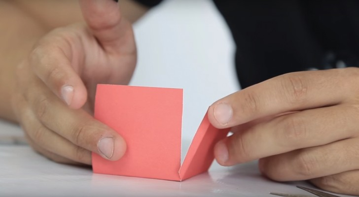 Start By Folding The Construction Paper — And Create A Magical Trick!