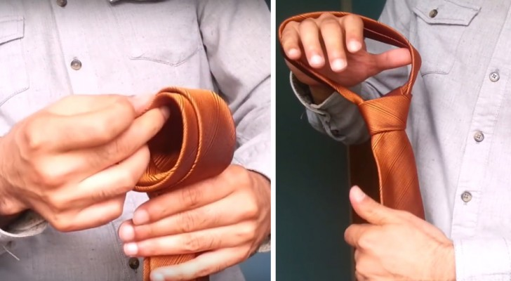 This Is The Ultimate Trick In Tying A Neck Tie In Less Than 10 Seconds