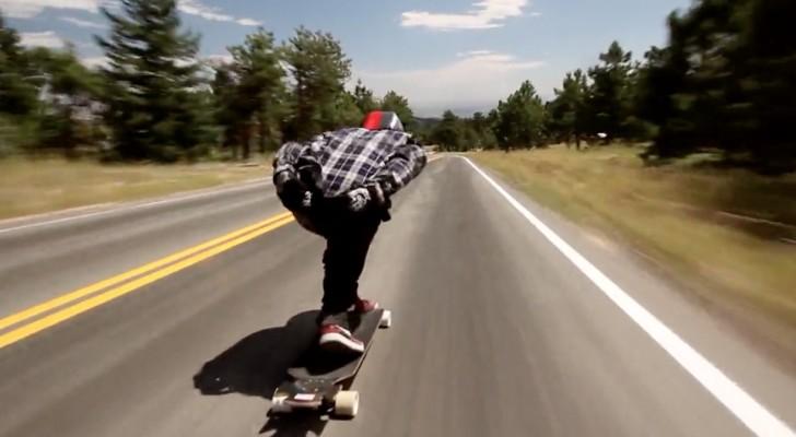 Goosebumps Alert: Colorado Skateboard Run At Over 100 Kph
