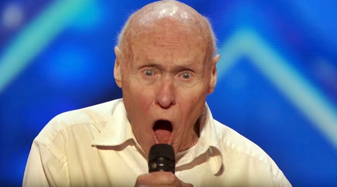 82-Year-Old Singer Shocked The Everyone As He Started Opening His Mouth – Incredible