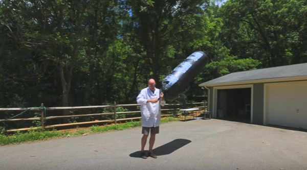 Learn How To Make Giant Flying Balloon Without Helium