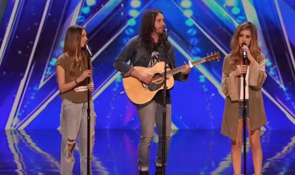 """Family Band Performs Powerful Rendition Of """"I'll Stand By You"""""""
