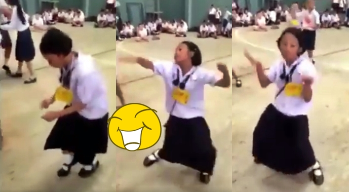 Little Girl Dances In A Very Unique And Hilarious Way – I Just Can't Help Myself Laughing