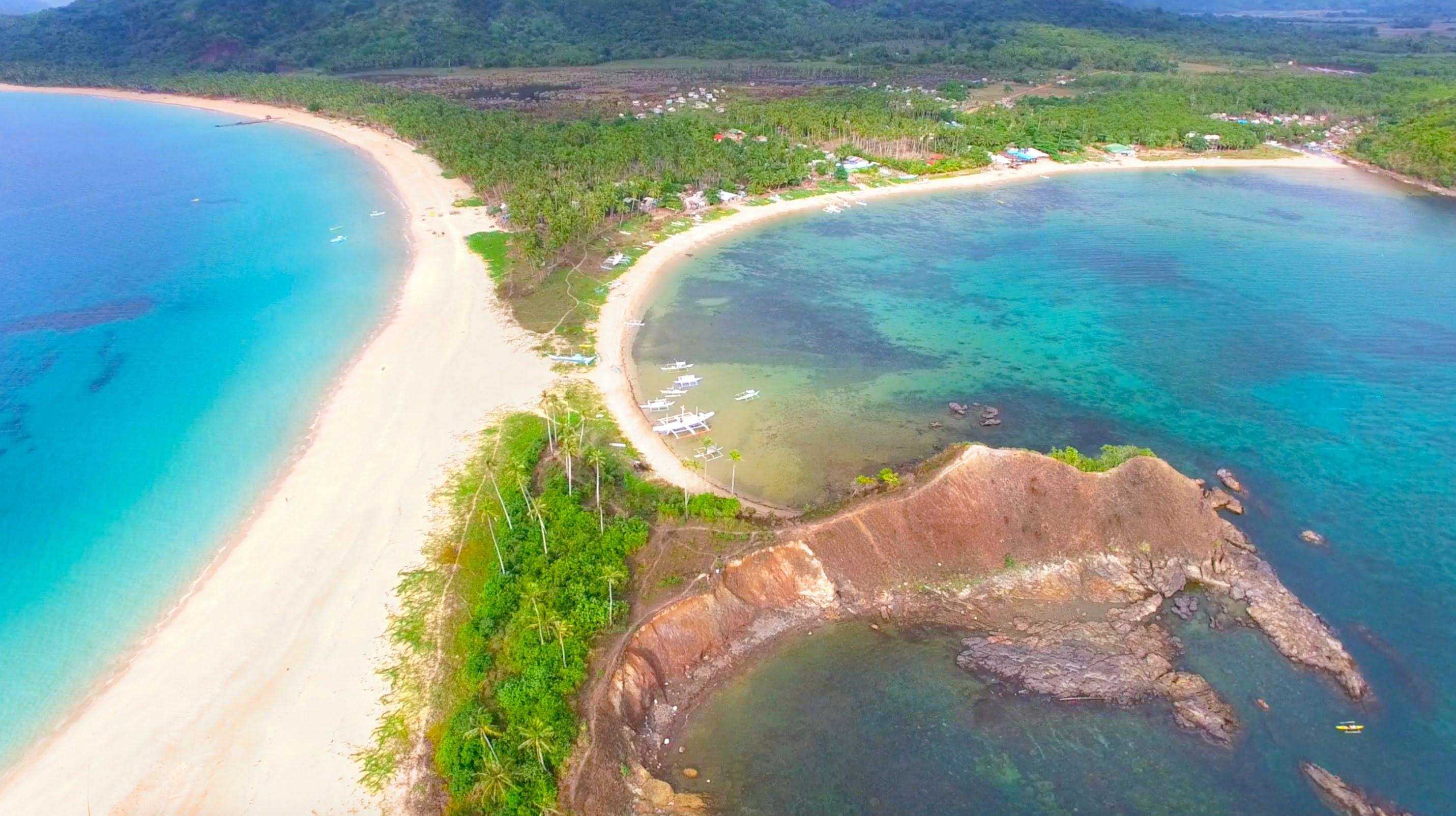 Nacpan Beach In Palawan, Philippines Is The Most Beautiful Beach