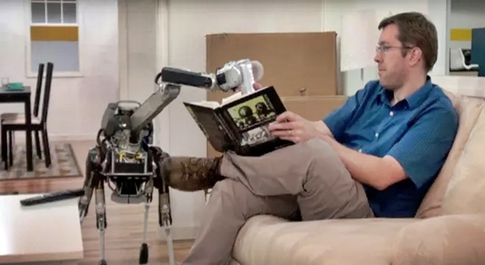 You Would Love To Have One Of These Robots At Home – Incredible
