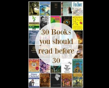 30 Books You Should Read Before Its Too Late