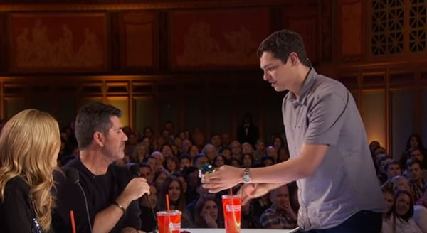 Magician Left Simon Cowell Stunned With His Rubik's Cube Trick