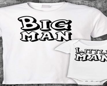 15 Dad And Baby Matching Shirts With Special Prints, #8 Is LOL!