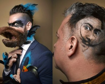 Amazing Moustaches Showcased By 2016 National Beard Competitors