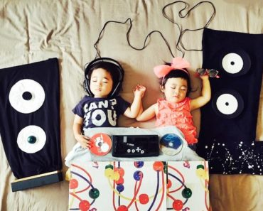 Sleeping Twins Epic Adventures, Lovely Idea By Their Mom