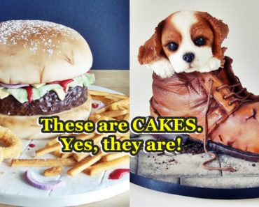 Baker Creates Cakes That Look Like Junk Foods And Others