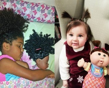 31 Photos Of Babies With Their Look Alike Doll!