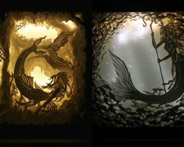 30 Beautiful Photos: Artist Capture Dreams Using Paper And Light
