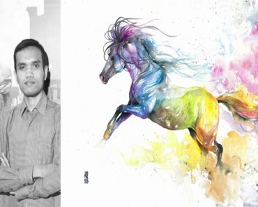 30 Magical Photos: Artist Create Animal Spirits Through Watercolor