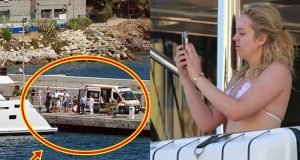 LOOK: Chef Of Yacht Boarded By Tiffany Trump Taken To Land By Stretcher, Find Out Why